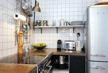 Kitchen dreams / modern <3 white <3 retro <3 50s <3 scandinavian