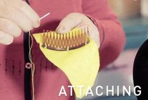 How to make: SEWING / Sewing, gluing, piecing together