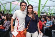 Concierto de navidad en Providencia, Santiago - 13/12/2014 / La Camerata y el Coro Universidad Andrés Bello ofrecieron el tradicional concierto, en el anfiteatro del Parque Bustamente