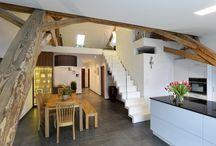 Private house, Termeno, Bolzano, Italy / Una soluzione progettuale in grado di combinare una geometria regolare e pulita con un'estetica elegante ed essenziale. Ecco il risultato: una scala dal design minimalista, naturale, pulito, moderno.
