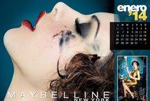 O calendário [Lindo] da Maybelline