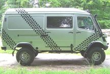 Mercedes Benz Van 4x4