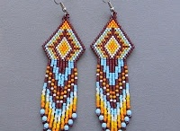 Earring patterns: Ethnic Indian