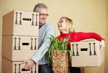 Moving Advice for Seniors / Read tips and advice on how you can help the elderly or seniors move from their old home to a new one in the most convenient way possible.