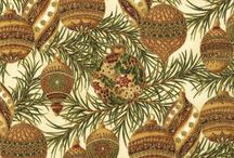 "Holiday Flourish 1 by Robert Kaufman / ""Holiday Flourish"" by Peggy Toole for Robert Kaufman Fabrics Official release date: January, 2008 Orders submitted by March 1, 2008 will begin shipping May, 2008"