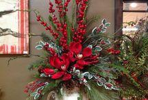 vánočví kytice