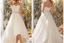 Wedding Dresses - Short / Mini, Tea Lenght & Short - Long Wedding Dresses