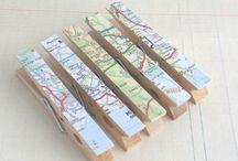 Pinzas - Clothespins