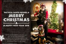 """TBOC Holiday Season Greetings / As a tradition right from the start """"Tactical Santa"""" sends out holiday season greetings every year."""