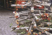 Öko karacsonyi dekoracio