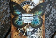 Tags / Mixed media tags to inspire