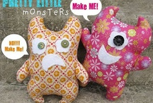 Monster Softies DIY