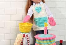 "Crochet 18"" Doll Accessories / Crochet 18"" Doll Accessories Inspiration"