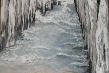 Eigen werk: Schilderijen Acryl op 3-D doek
