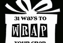 Bows and gift wrapping ideas
