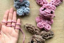 *knitting /finger, arm/
