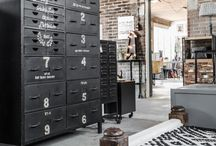 Industrial Decor / Trendy and popular, industrial décor and owning a loft apartment is the dream for many. Find some inspiration here. together we discover...