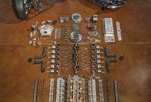 Voitures, moteurs, mécanique...