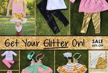 Glitter Glamour Outfits / Glitter glamour outfits and accessories