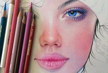 Colored Pencil Drawing / Colored pencil tutorial