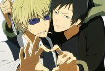 Durarara!! Izaya & Shizuo / Arts with characters from Durarara!! Firstly - OTP: Izaya & Shizuo