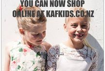 KAF KIDS ONLINE STORE / Sample selection of KAF KIDS and Kristen Fordham adult garments on line at http://kafkids.co.nz/