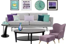 Houseplanning - livingroom / lounge / Interior, planning the perfect house or flat