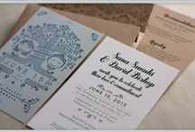Wedding Kraft Invitation Idea / Find kraft paper wedding invitation idea.