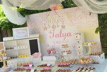 Shabby Chic Sweet Table/Dessert Table