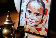 Yemenite girl with a polka-dot veil - Yemen