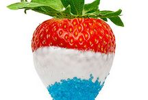 4th of July Eats! / Great last minute, easy things for everyone to eat on the 4th of July!