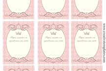 Tag para imprimir / Tag para personalizar suas lembrancinhas e produtos artesanais / by Tonbo Nuske