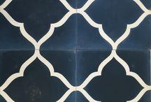 Encaustic (cement) tiles