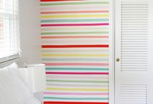 Washi that gray right outta my hair... / some of these are cute; some ridiculous when masking tape can be used instead of really expensive decorative tape.  Just sayin'... / by Melanie Marino Spindler