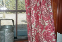 Home: Sink Skirts and Curtain Dividers / Ideas and tutorials for Sink Skirts. You could adapt the theory to furniture too. Ideas and tutorials for curtain dividers. Ideas for curtains. / by Monika E.
