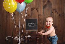 boy first birthday session ideas