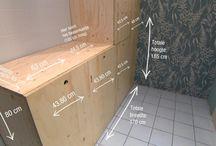Ideeën voor het huis stookhok