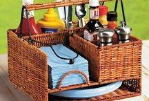 na działkę i piknik