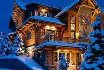 Log cabin / Architecture