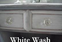 Refinish old furniture / Refinish old furniture