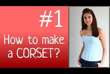 Corset sewing