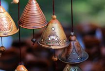 Pottery bells & wind...