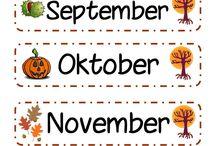 måneder og datoer
