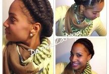 Protective Styles TN / When you want serious length retention or you just need a break from your hair. Look fabulous in these cute styles