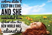 Bookish Things / Snippets from my various novels.