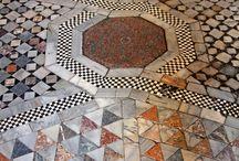 Floors, tiles bricks & azulejos