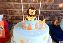 Vintage Circus Party / Cute and unique cake for a kid Birthday Party http://www.Trendyfunparty.com ,  Atlanta