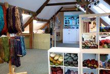 Skein Queen dye workshop and studio