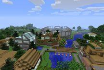 Minecraft worlds to build