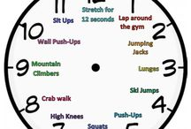 PE Warm up games